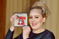 Adele Has a Shiny New MBE Medal Now