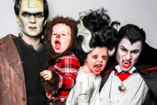Celebrity Families Who'd Win Every Halloween Costume Contest