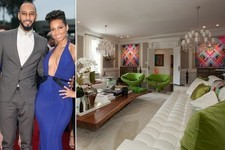 Alicia Keys and Swizz Beatz's Over-The-Top New Jersey Mansion