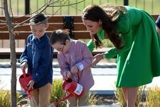 Kate Middleton Shows Off Her Green Thumb