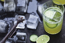 Yummy Supper Blogger Erin Scott's Cucumber Gimlet
