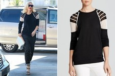 Found: Gwen Stefani's Sporty Sweater