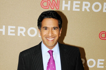 Dr. Sanjay Gupta Stars at the CNN Heroes Party in LA