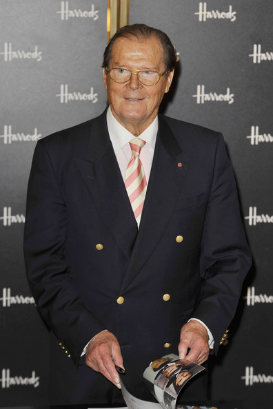 roger moore dating history