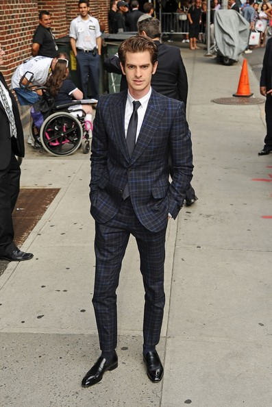 Andrew Garfield Out in NYC
