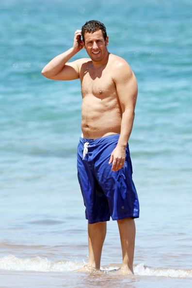 Adam Sandler in Adam Sandler in Maui - Zimbio