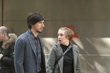 Adam Driver 'Girls' Stars Film in NYC