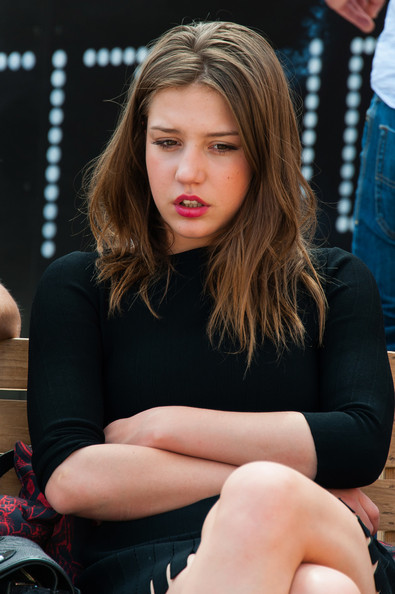 Adele Exarchopoulos Adele Exarchopoulos seen after the 'La Vie d'Adele - Chapitre 1 et 2' photocall during The 66th Annual Cannes Film Festival at the Palais des Festivals.