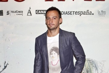 Alejandro Amenabar Celebs at the Premiere of 'The Impossible' in Madrid