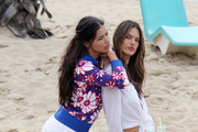 """When they """"worked"""" on the beach. - Every Time Supermodels Made Us Jealous in 2013"""