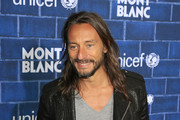 Bob Sinclar at the Pre-Oscar charity brunch by Montblanc and UNICEF to celebrate the launch of their new 'Signature For Good 2013' Initiative at Hotel Bel-Air in Los Angeles.