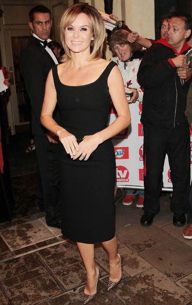 Amanda Holden - Celebs at the TV Choice Awards