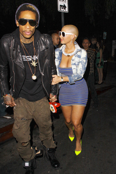 Wiz Khalifa couple