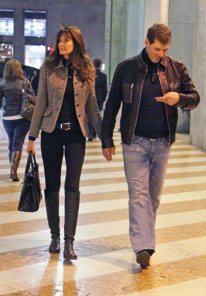 carol alt photos photos model carol alt and alexei yashin in milan