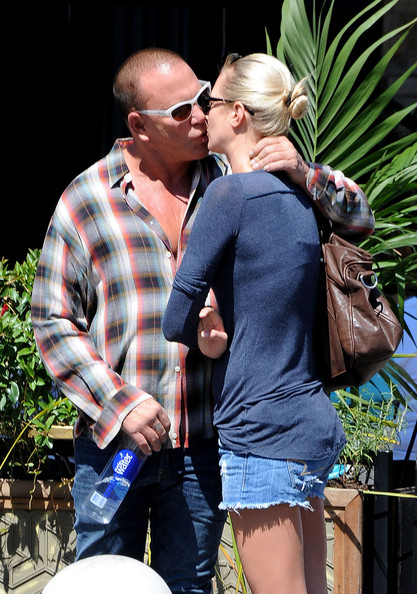 Mickey Rourke with beautiful, Girlfriend Anastassija Makarenko