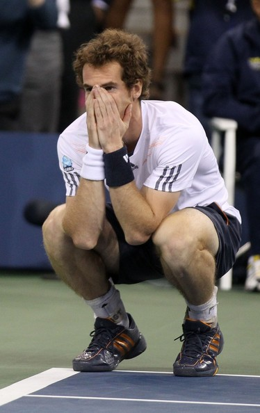 Andy Murray - Ivan Lendl barely flashes a smile as Andy Murray wins the US Open