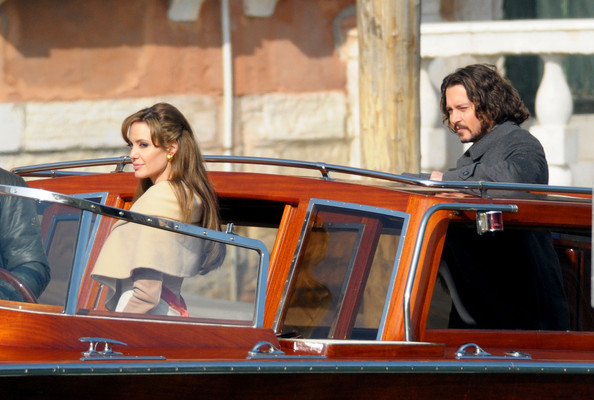 Johnny+Depp in Angelina Jolie and Johnny Depp Film 'The Tourist' 2