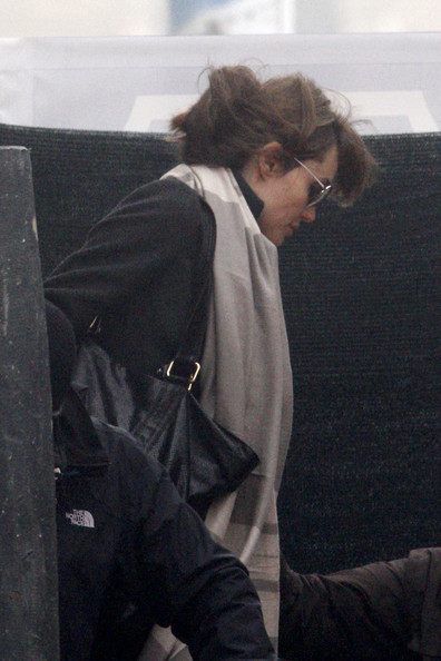 Angelina Jolie Angelina Jolie and Johnny Depp spotted filming scenes on a