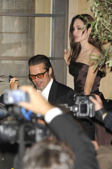"Stars Leaving the ""Tree of Life"" Afterparty in Cannes []"