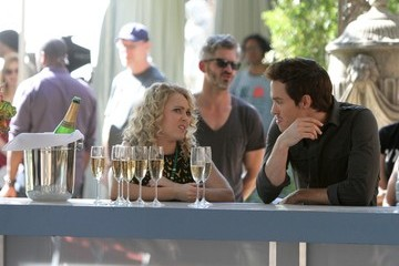 AnnaSophia Robb Chris Wood Scenes from 'The Carrie Diaries' Set — Part 2