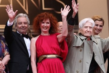 "Pierre Arditi Anne Consigny at the red carpet premiere of ""Vous n'avez encore rien vu'"" at the Cannes Film Festival"