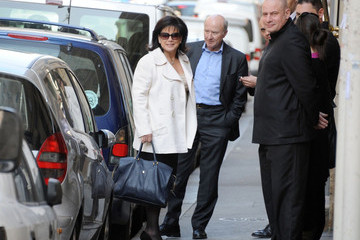 Anne Sinclair Anne Sinclair, wife of former Managing Director of the IMF Dominique Strauss-Kahn, is seen going to a restaurant in Paris