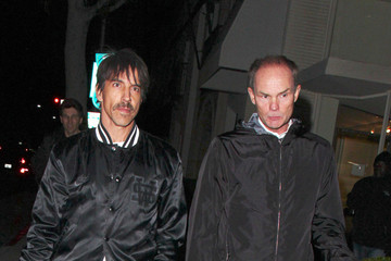 Anthony Kiedis Celebs Spotted Out for the Night in LA