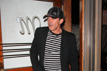 Antonio Banderas Melanie Griffith Hot Hollywood couple Melanie Griffith and Antonio Banderas seen leaving together from the Madeos Restaurant in Los Angeles
