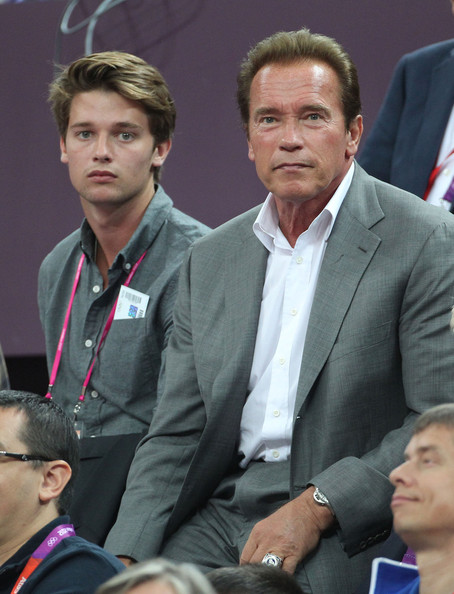 Arnold Schwarzenegger and Patrick Schwarzenegger Photos ...