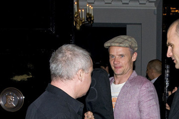 Damian Hirst Damian Hirst and Flea Out in London