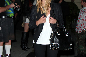 Ashley Benson Celebs Leaves the Nylon Party in Hollywood