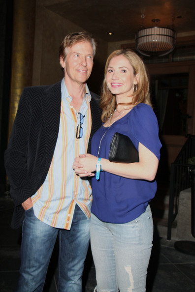 Ashley Jones Jack Wagner and 'True Blood' actress Ashley Jones attend ...