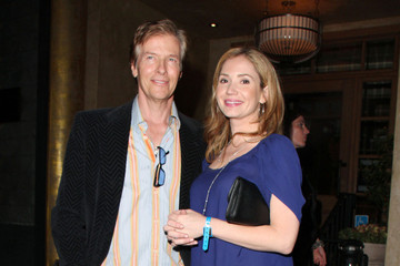 Ashley Jones Jack Wagner and Ashley Jones at a Samsung Event