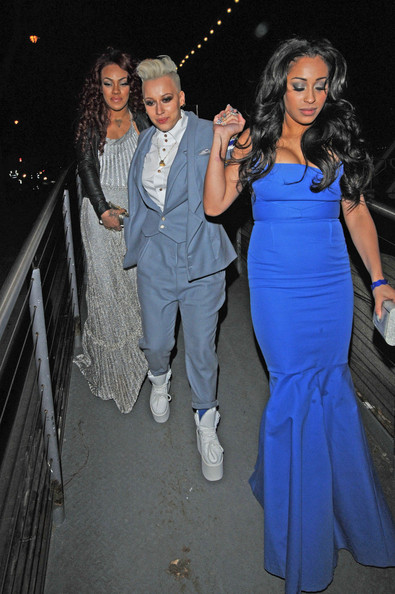 Celebs at a BRIT Awards After Party