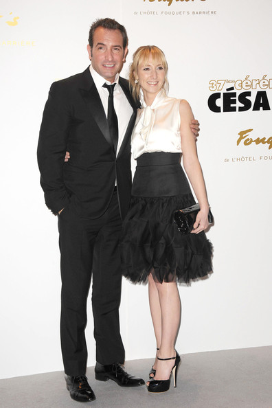 Audrey lamy pictures stars at the cesar awards zimbio for Dujardin thierry