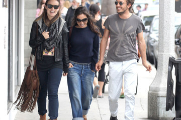 Tao Ruspoli Olivia Wilde and Tao Ruspoli Shop in Venice, California