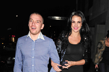 Jamie O'Hara Danielle Lloyd Dines Out in London