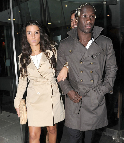 Family photo of the football player, married to Ludivine Kadri Sagna, famous for Arsenal & Manchester City.