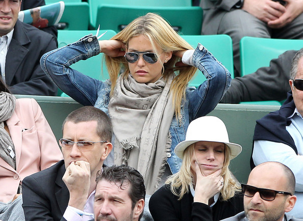Bar Refaeli - Bar Refaeli at the French Open