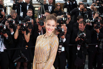 Barbara Palvin Celebs at the 'Lawless' Premiere in Cannes 3
