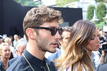 Belen Rodriguez MFW: Celebrity Sightings