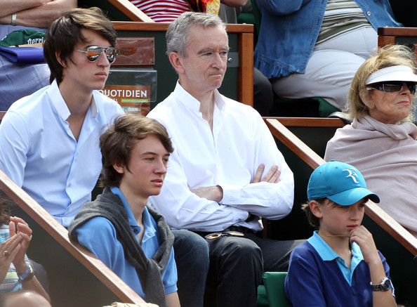Bernard Arnault Photos Celebrities At The French Open