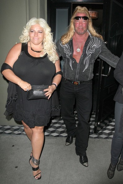 "Beth Chapman - Reality TV star Duane ""Dog"" Chapman and his wife Beth"