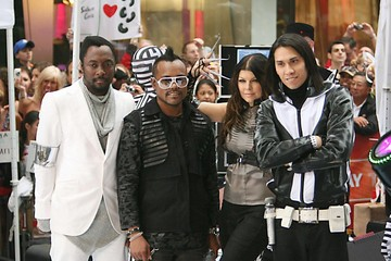 Fergie Black Eyed Peas The Black Eyed Peas are rumoured to be on the verge of splitting up after reportedly pulling out of the Michael Jackson tribute concert