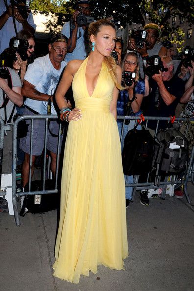 Blake Lively at the New York premire of 'Savages'