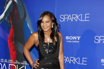 Bobbi Kristina Brown The Premiere of 'Sparkle' in LA