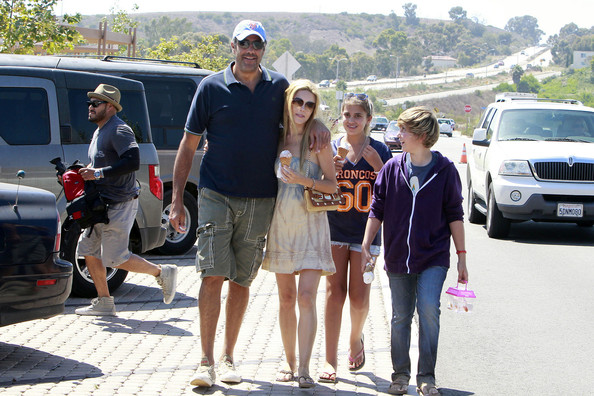 Brad Garrett and Family in Malibu  Brad Garrett Brad Garrett Family