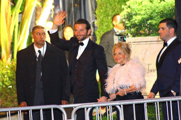 Bradley Cooper Gloria Cooper Celebs at the Sunset Towers Hotel Before the Oscars