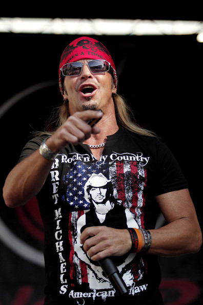 bret michaels pictures ashley hebert at the la half. Black Bedroom Furniture Sets. Home Design Ideas