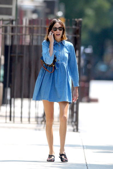 Alexa Chung In The East Village